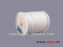 [Ropeking]white polyester anchor line/ fishing rope/ marine rope