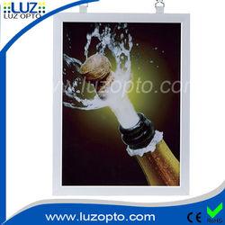 Led acrylic sheet, led Light photo frame,aluminium picture frame