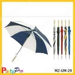 2013 straight umbrella with wooden handle