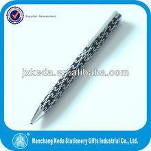 2014 China Black Metal Ball Pen Promotional Signature Roller Pen