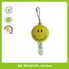 2014 OEM lovely soft PVC Key Cover/smiley face Soft PVC key cap/plastic key head
