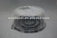 Eco-friendly plastic Cake dome/ container for cake