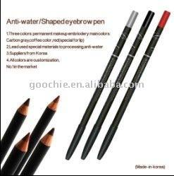 eyebrow/eyeliner/lip water-proof pencil