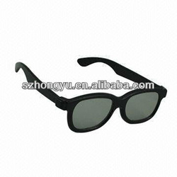 Cinema use 3D glasses circular polarized