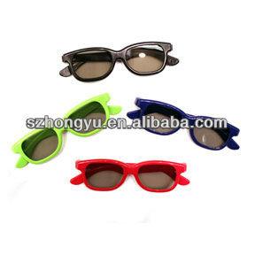 cinema utilizzare occhiali 3d polarizzati circolari