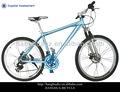 Hh-m2613 azul 21sp alumínio da bicicleta de montanha com shimano e peças de freio de disco
