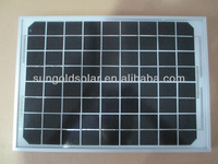 10W solar panel photovoltaic monocrystalline silicon