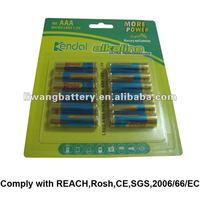 1.5V alarm clock LR03 AAA alkaline battery