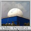 amoco doppelmembran biogasbehälters