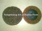 brown/Maroon/blue/gray colore Non-woven sanding disc