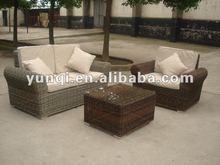 Modern rattan furniture sofa sectionals