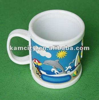 Soft PVC Sleeve Mug or Plastic Mug