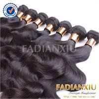 2014 best selling 6A grade natural body wave 100% human Peruvian virgin hair