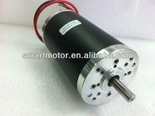 OD63mm high torque Permanent Magnet Brushed Dc Motor 12V, 24V, 36V, 40V, 48V, power 50w, 75w, 100w, 125w, 200w, 250w, 500w