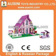 plastic educational building block