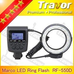 NEW arrival Digital Camera RF-550D LED Ring Light for macro shooting