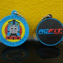 custom 2d/3d promotion soft pvc key ring/soft pvc keyring