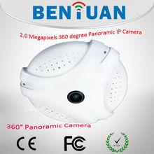 Fashion&High quality 2.0 Megapixel INDOOR IP Camera 360 degree Panoramic IP Camera
