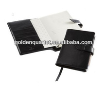 A6 Pocket Leather Notebook Cover(SA8000, BSCI, ICTI, WCA accredited factory)