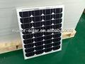 Ms- mono- 50w energía solar de ventas
