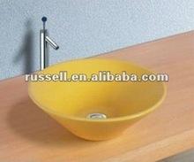 colored glaze bathroom vanity (Russell 8027yellow)