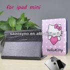 13002 PU Leather Stand Hard Back Case for Apple iPad mini