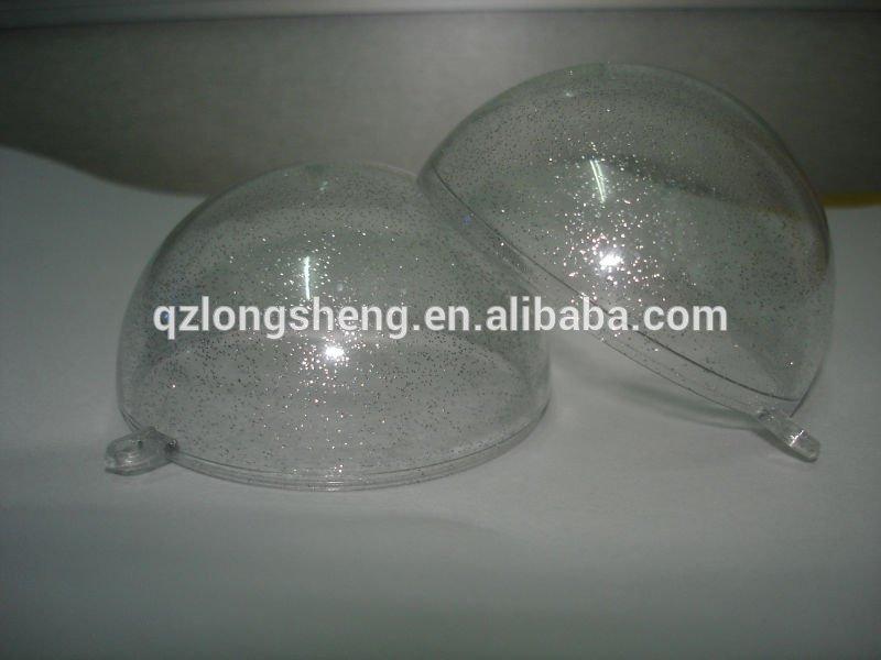 transparent plastic christmas balls,plastic christmas ball,candy storage case