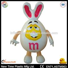 inflatable pvc rabbit toys