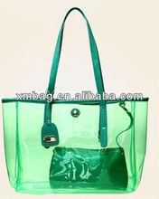 green summer beach big pvc bags for women from pvc bags manufacturer