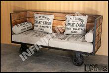 Cosecha industrial sofá-cama muebles, industrial de muebles