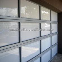 plexiglass walls