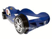 kids bed /Kids wood car bed/cartoon bed racing car bed 992-01B