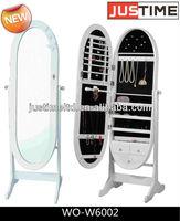 Over-the-Door Beauty Armoire, Full-length Mirror