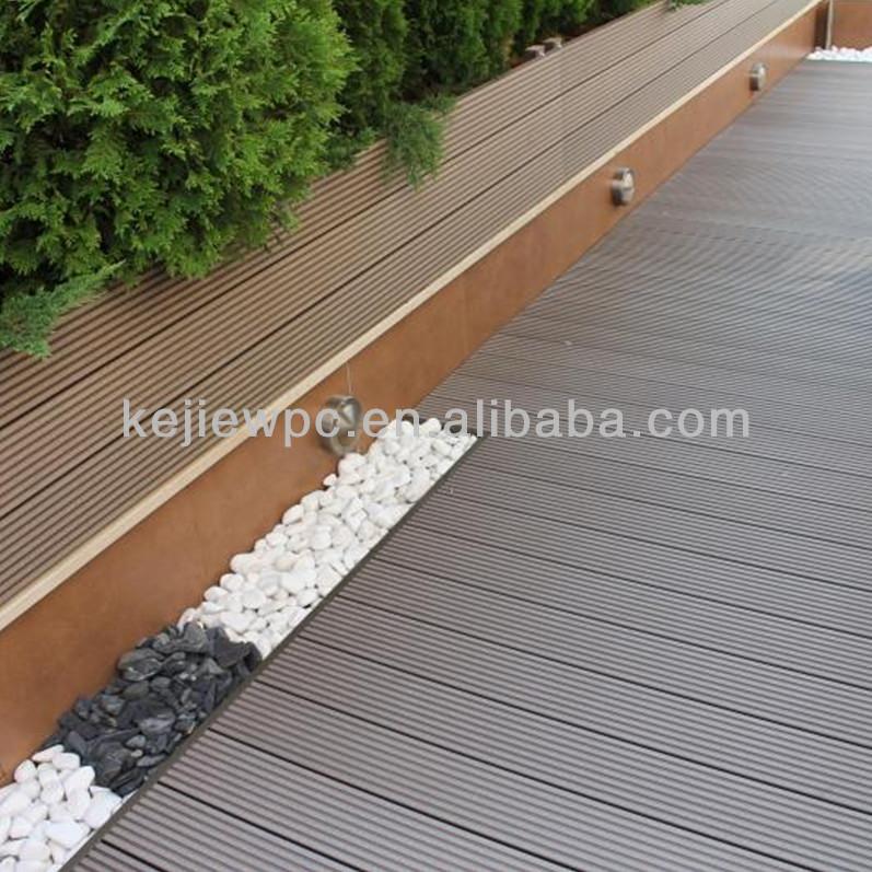 in legno coperta composito di plastica esterna prezzo wpc pavimenti per esterni solido wpc ...