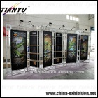 Beauty trade show exhibition truss booth display system