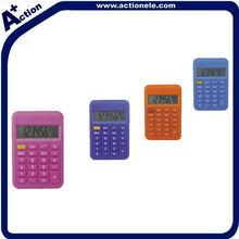 8 digit mini pocket calculator