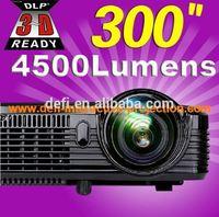 4500 lumens full hd 3d short throw projector