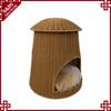 PE rattan Handmade durable waterproof dog cage pet house