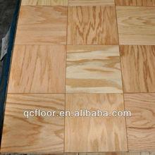 Европейский дуб деревянные напольная плитка / площадь деревянные плитки