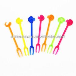 Plastic Color Cocktails Pick/Fruit Pick/Cocktail Stick