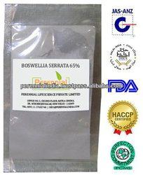 Boswellia Serrata Extract Boswellic acid/ GMP Standardize Boswellia Extract 85% / Sallai Guggul Extract frrom India