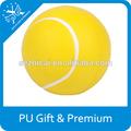 Barato personalizado estrés pelota de tenis para los niños juego