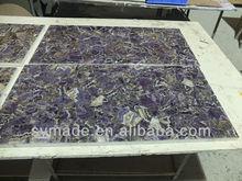 semiprecious stone slabs/large natural amethyst