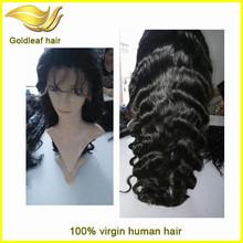Alibaba china Unprocessed 100%brazilian virgin hair hot sale fashion style human hair wig