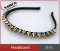 lindo salão de beleza metal hairband headband plástico para decorar