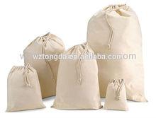 2014 fashion customized extra large cotton laundry bag
