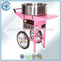 Commerciale en acier inoxydable fil électrique de sucre coton Machine à bonbons