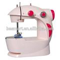 Bm201 Mini uso doméstico máquina de costura overlock manual