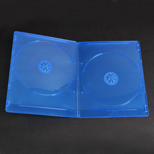 Popular 7mm Double DVD Disc Slim Blu Ray CASE