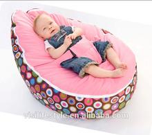 various color soft baby bean bag, kids sleeping lazy bean bag bed